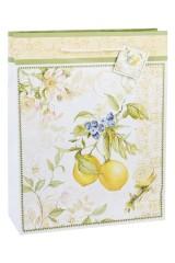 Пакет подарочный Солнечный лимон