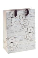 Пакет подарочный Мишка
