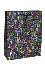 Пакет подарочный «Каллиграфия»