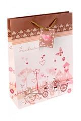 Пакет подарочный Свадебная карета