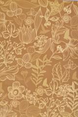 Бумага упаковочная Винтажные цветы