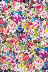 Бумага упаковочная Пестрые розы