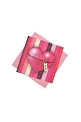 Открытка подарочная Розовое сердце - 2