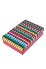 Коробка подарочная Пластилиновые полосы