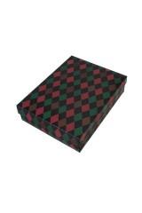Коробка подарочная «Узор из ромбов»