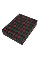 Коробка подарочная Узор из ромбов