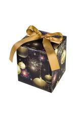 Коробка подарочная новогодняя Merry and bright