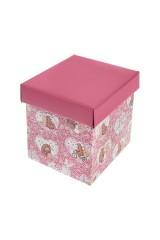 Коробка подарочная Влюбленные медвежата