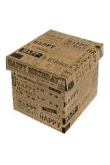 Коробка подарочная Поздравление из прошлого