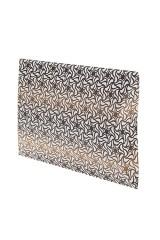 Коробка-подушка Золотистые узоры