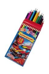 Набор цветных карандашей Машинка