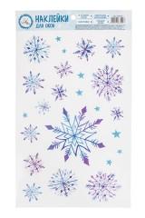 Наклейки интерьерные Снежный день