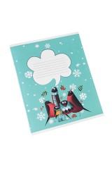 Тетрадь Друзья-снегири