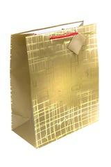Пакет подарочный Золотая сеть