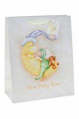Пакет подарочный Спящий малыш