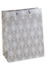 Пакет подарочный Кружевной узор