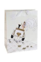 Пакет подарочный Свадебный кортеж