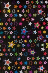 Бумага упаковочная Яркие звезды