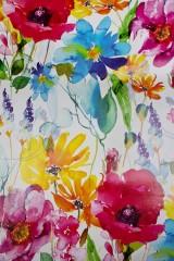 Бумага упаковочная Луговые цветы