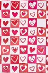 Бумага упаковочная Любовная лотерея