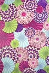 Бумага упаковочная Цветочный салют