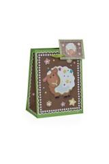 Пакет подарочный Пряничная овечка