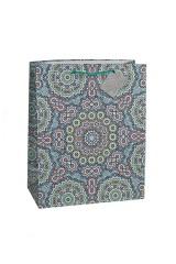 Пакет подарочный «Арабский узор»