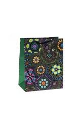 Пакет подарочный Цветочная мозаика