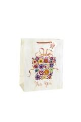 Пакет подарочный Цветочный подарок