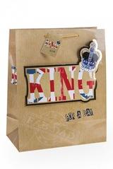Пакет подарочный Король на день