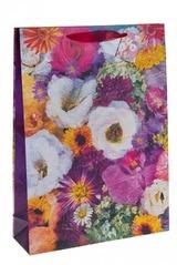 Пакет подарочный Цветочная пастель