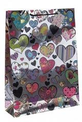 Пакет подарочный Любовный шик