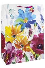 Пакет подарочный Луговые цветы