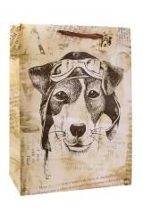Пакет подарочный Пес Счастливчик