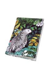 Держатель для дисконтных карт/визиток Попугаи