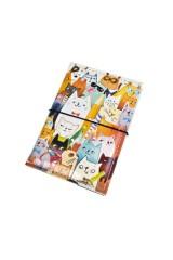 Держатель для дисконтных карт/визиток Ученые коты