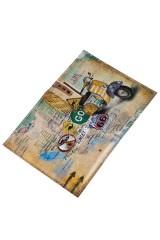 Обложка для паспорта Мопед