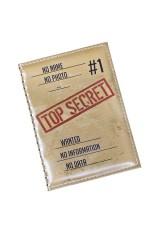 Обложка для паспорта Совершенно секретно