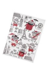 Обложка для паспорта Коты-путешественники