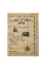 Обложка для паспорта Карта сокровищ