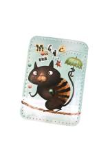 Держатель для карточки-пропуска Волшебный котик