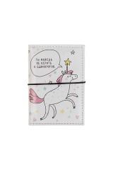 Держатель для дисконтных карт/визиток Единороги