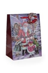 Пакет подарочный Письмо Деду Морозу