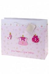 Пакет подарочный Новорожденная малышка