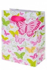 Пакет подарочный Полет бабочек
