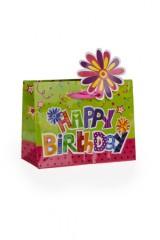 Пакет подарочный В день рождения