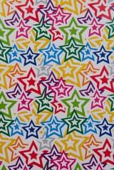 Бумага упаковочная Звезды