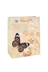 Пакет подарочный Парящая бабочка