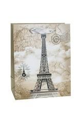 Пакет подарочный Эйфелева башня