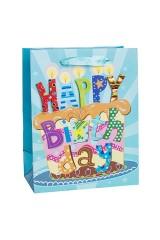 Пакет подарочный Праздничный торт